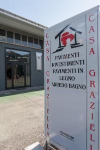 Casa Graziella a San Damaso in provincia di Modena. Rivenditore rivestimenti e pavimenti in ceramica e legno.